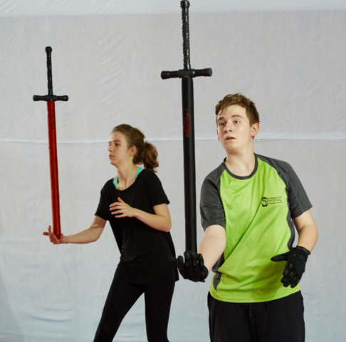 walka mieczem